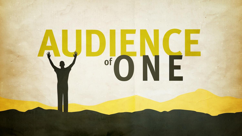 Audience Of One Varsity Faith