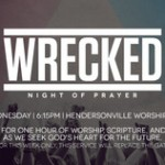 Wrecked Prayer.