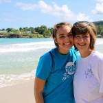 Me & Julie in Haiti- 2011