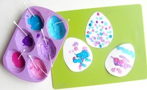Q Tip Eggs