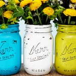 vintage mason jars